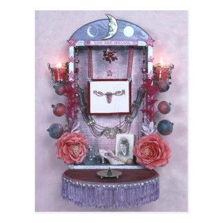 You are Special Altar postcard by Hoshi Hana