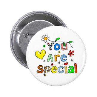 You Are Special Pin