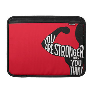 You Are Stronger Than You Think Sleeve For MacBook Air