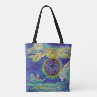 You are supported in whatever is coming your way tote bag
