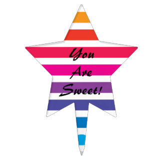 You Are Sweet - Star Cake Topper