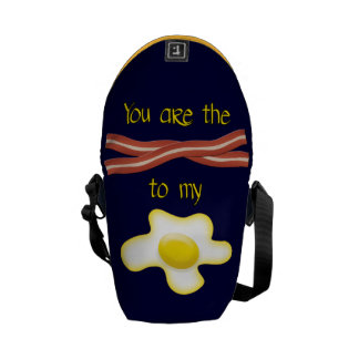 You Are The Bacon To My Egg Courier Bags