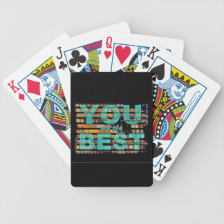 You Are The Best Dad Bicycle Poker Cards