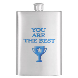 You Are The Best - Father's Day Flask