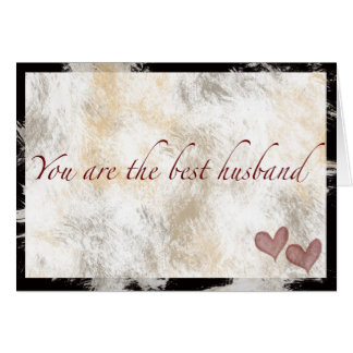 You are the best husband card