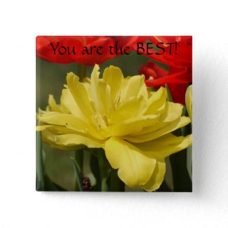 You are the best-Tulip Button button