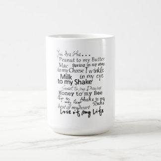 You are the... coffee mug