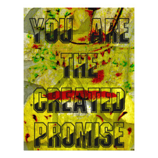 You are the created promise letterhead