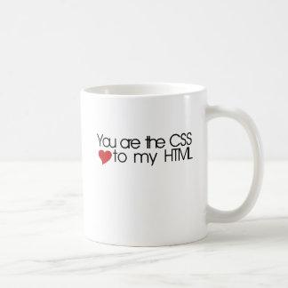 You are the CSS to my HTML Coffee Mug