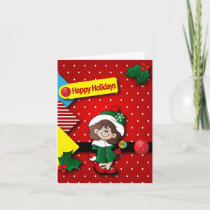 You Are the Cutest Elf in the Shop Holiday Card