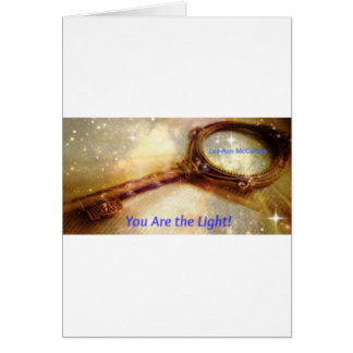 You Are the Light Key Card