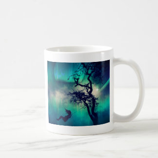 You Are the Light Turquoise Classic White Coffee Mug
