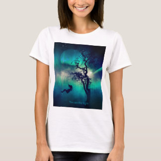 You Are the Light Turquoise T-Shirt