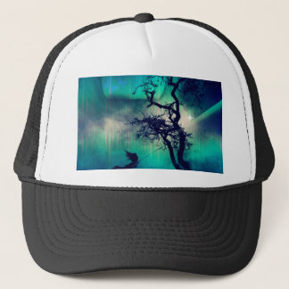 You Are the Light Turquoise Trucker Hat