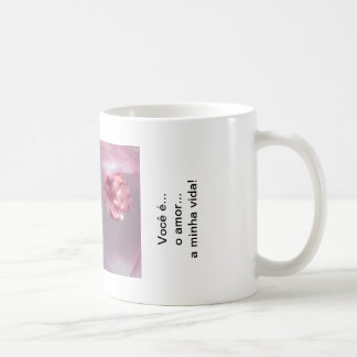 You are the love of my life… coffee mug