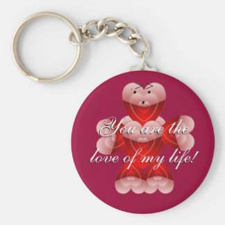 You are the love of my life Keychain