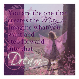 You are the Magic Poster
