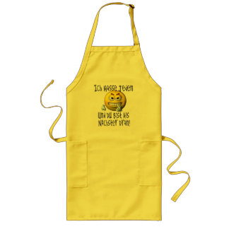 You are the next one! long apron
