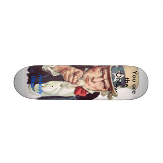 You are the one skate decks