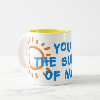You are the sunshine of my life mug