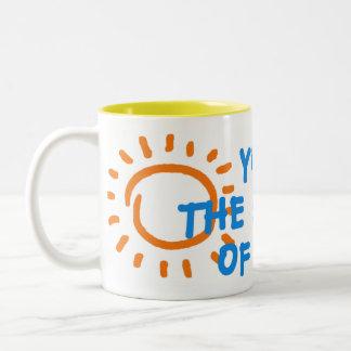 You are the sunshine of my life mug