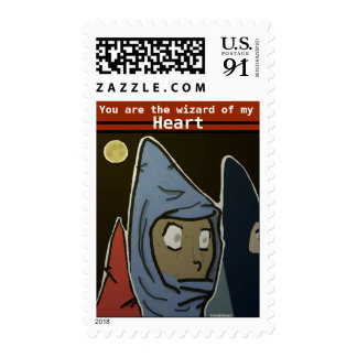 you are the wizard of my heart postage