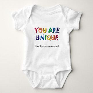 You are Unique Baby Bodysuit