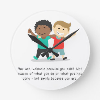 You are valuable - Clock