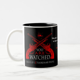 You Are Watched Two-Tone Coffee Mug