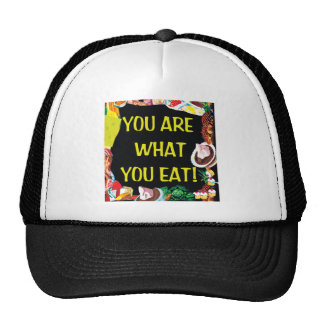 You Are What You Eat Mesh Hats