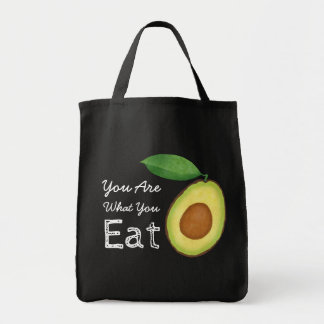 You Are What You Eat Avocado Tote Bag