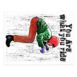 You Are What You Ride - Funny Motorbike Rider Card Postcards