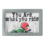 You Are What You Ride - Motorcycle Style Status Belt Buckle