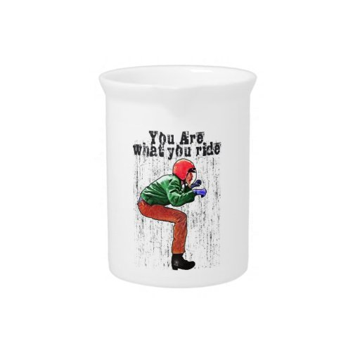 You Are What You Ride - Motorcycle Style Status Drink Pitcher