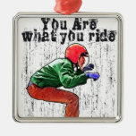 You Are What You Ride - Motorcycle Style Status Ornaments