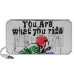 You Are What You Ride - Motorcycle Style Status iPhone Speaker