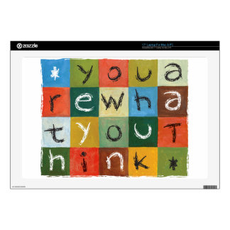 You Are What You Think Decals For Laptops