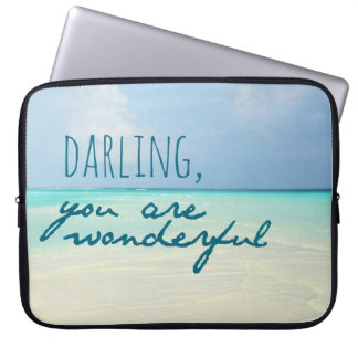 You Are Wonderful Laptop Computer Sleeve
