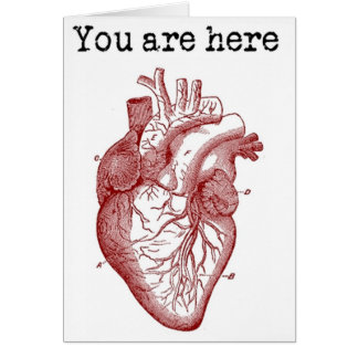 You areHere in my Heart Card