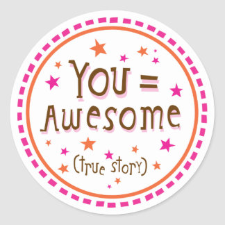 you=awesome stickers
