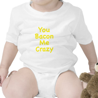 You Bacon Me Crazy Rompers