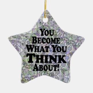 You Become - Star Christmas Ornament