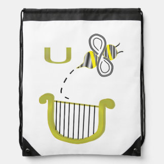You Bee a Liar Drawstring Bag