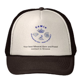 You best Mineral ,Gem and Fossil contact in Greece Trucker Hat
