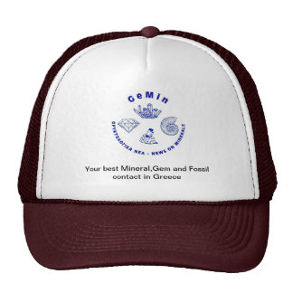 You best Mineral,Gem and Fossil contact in Greece Trucker Hat