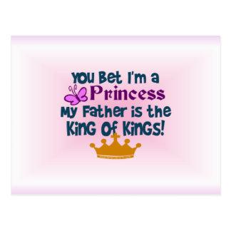 You Bet I'm a Princess Post Card