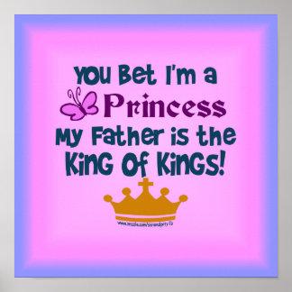 You Bet I'm a Princess Poster