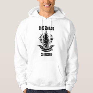 You bet it hurts! - Loco Tattoos Kalispell Hoodie