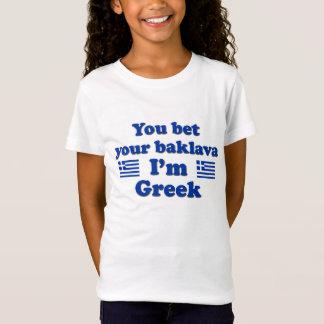 You bet Your Baklava I'm Greek 2 T-Shirt