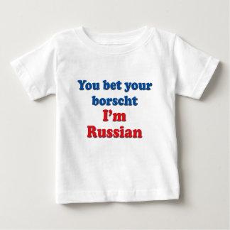 You Bet Your Borscht Baby T-Shirt